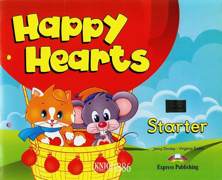 Учебник «Happy Hearts», уровень Starter, Jenny Dooley | Exspress Publishing