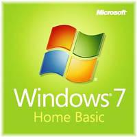 Microsoft Windows 7 Home Basic, 32-bit, Rus, DVD, OEM (F2C-00201) вскрытый