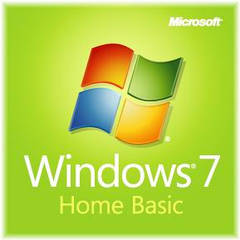 Microsoft Windows 7 Home Basic, 32-bit, Rus, DVD, OEM (F2C-00201) розкритий