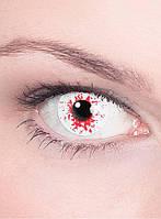 Декоративные контактные линзы. Эффект зараженного глаза, фото 1