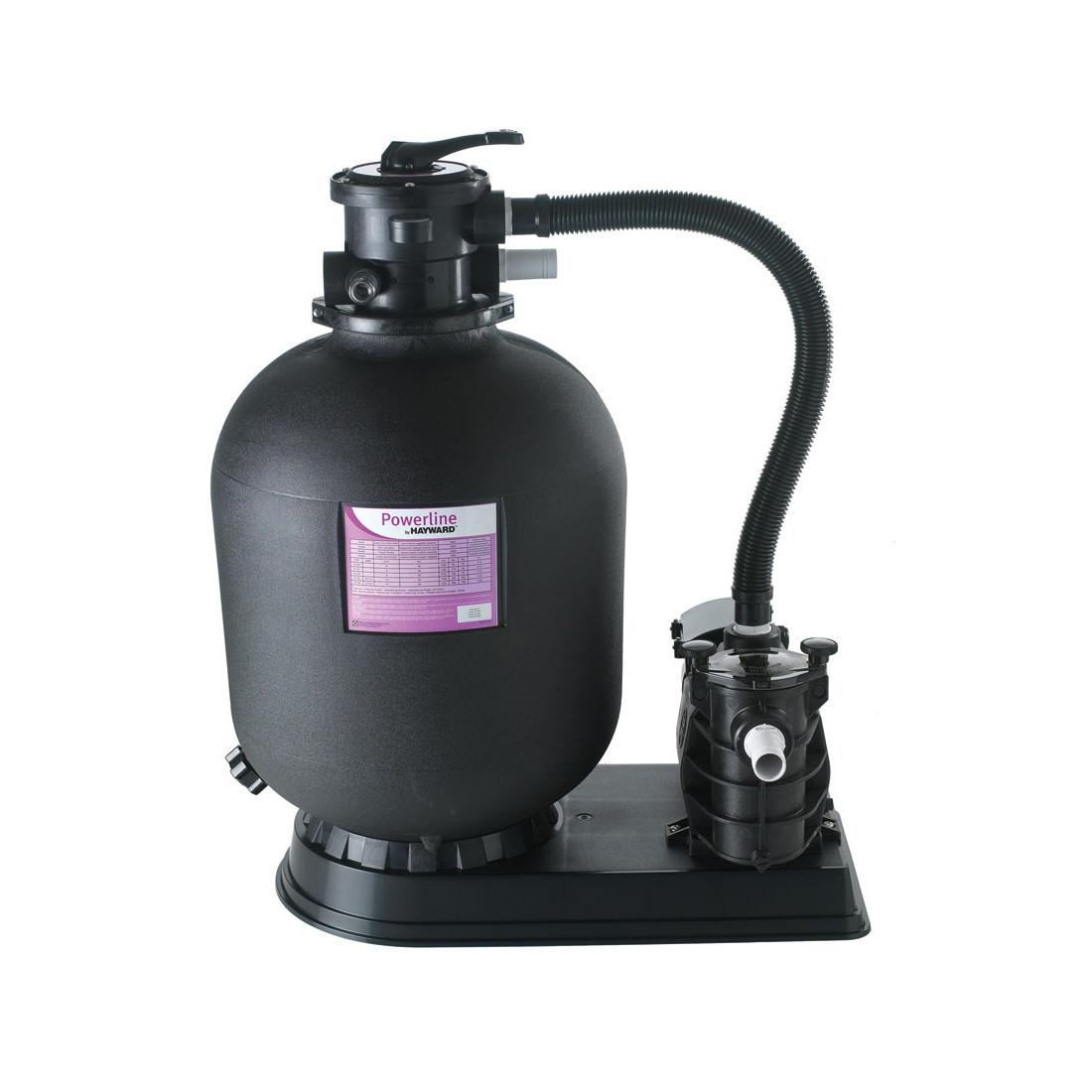Фильтрационная установка Hayward PowerLine 81071 (8 м3/ч) для бассейна с объёмом воды до 40 м3