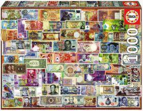 Пазл Educa Банкноты 1000 элементов EDU-17659