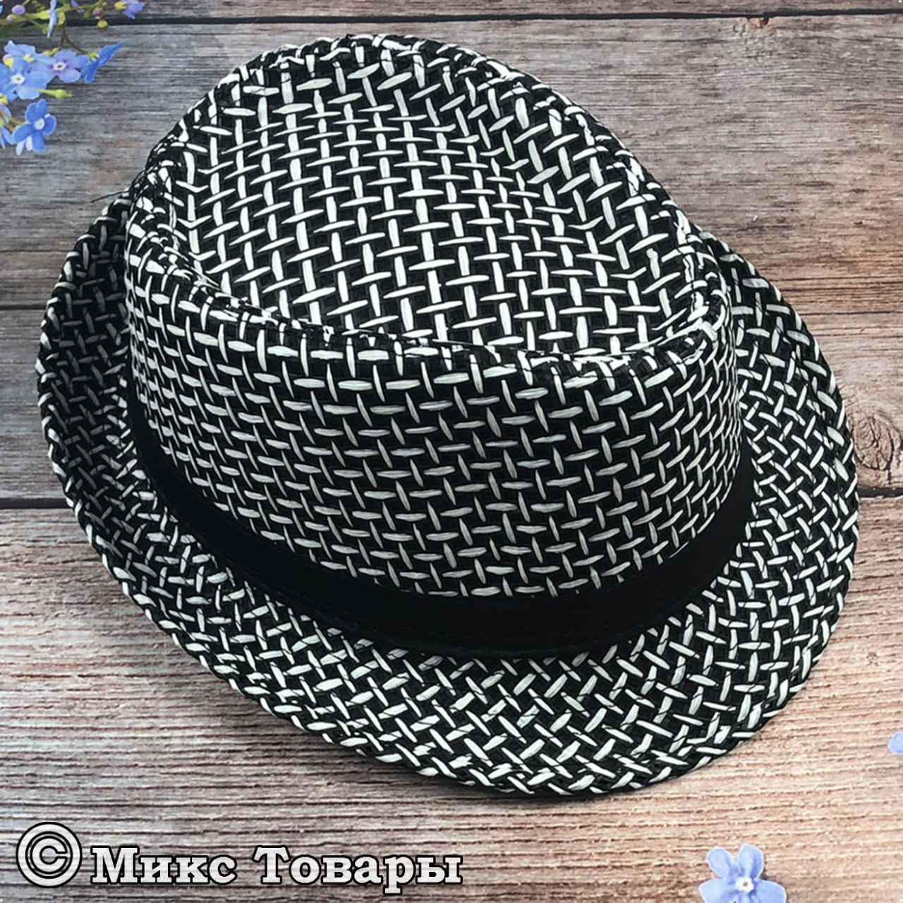 Шляпка для мальчиков подростков (объём 58 см) (1047)