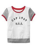 Детская футболка на девочку Gap