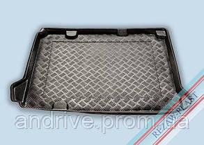 "Ковер багажника Citroen C-4 2010-> (саб.) (резино/пластик) ""REZAW"" черн."
