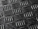 "Ковер багажника Hyundai Santa Fe 2013-> 7мест (резино/пластик) ""REZAW"" черн., фото 3"