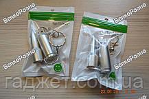 Флешка Пуля брелок серебрянного цвета на 32 Gb, фото 2
