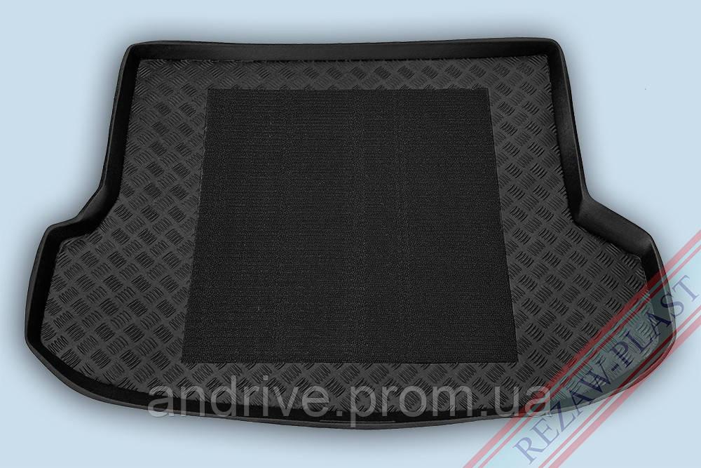 """Ковер багажника Lexus RX-350/400 2010-> (+антиск.коврик) """"REZAW"""" черн."""