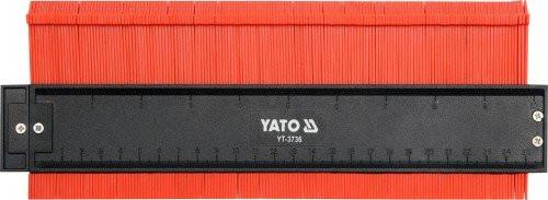 Шаблон профилей 260мм Yato YT-3736