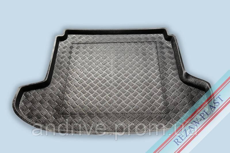 """Ковер багажника Kia Cee'd 2007-2012 вагон 5D (резино/пластик) """"REZAW"""" черн."""