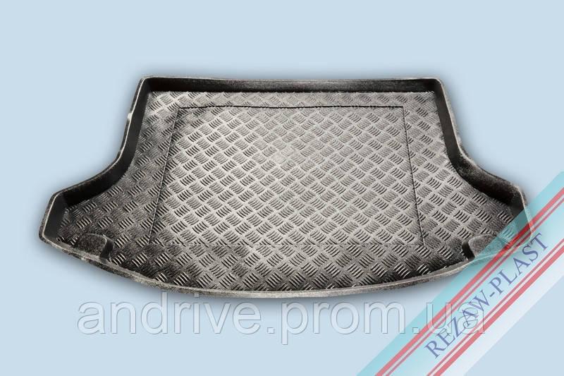 "Ковер багажника Kia Sportage-III 2010-> (резино/пластик) ""REZAW"" черн."