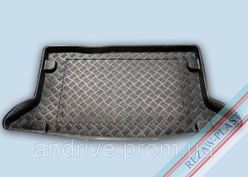 """Ковер багажника Mercedes W124 E 1984-1997 вагон (резино/пластик) """"REZAW"""" черн."""
