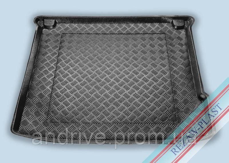 """Ковер багажника Mercedes W166 ML 2011-> (резино/пластик) """"REZAW"""" черн."""