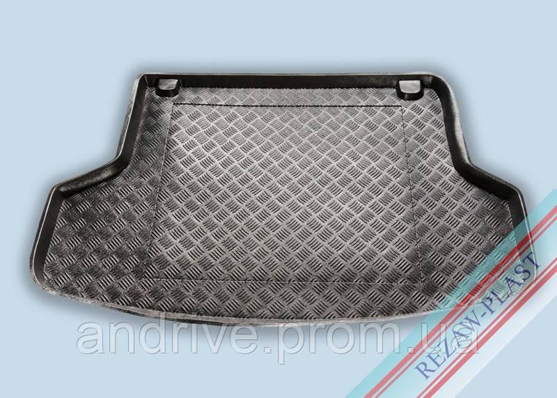 "Ковер багажника Mitsubishi Lancer 9 2003-2009 вагон (резино/пластик) ""REZAW"" черн."