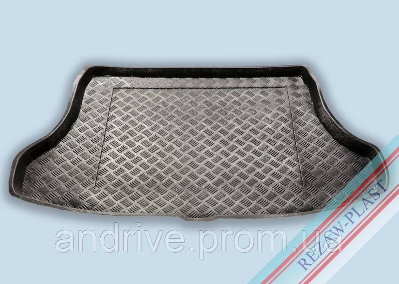 "Ковер багажника Nissan Tiida 2006-> сед (резино/пластик) ""REZAW"" черн."