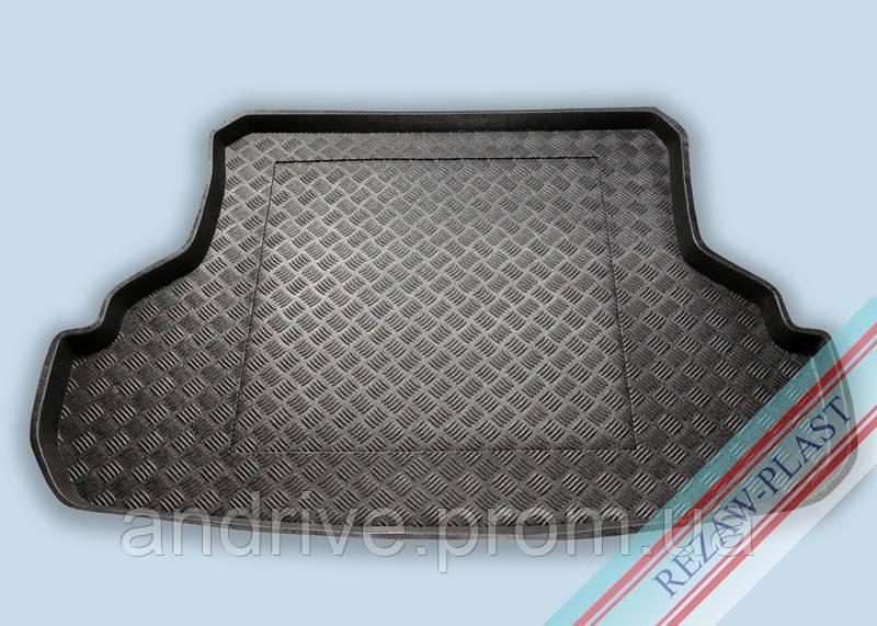 "Ковер багажника Suzuki SX4 2008-> сед (резино/пластик) ""REZAW"" черн."