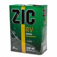 Моторное масло Zic RV Diesel 10W-40 (Канистра 4литра), фото 1