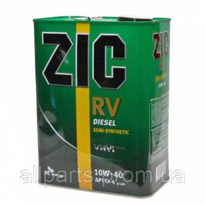 Моторное масло Zic RV Diesel 10W-40 (Канистра 6литров)