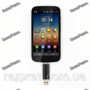 Флешка для смартфона и Пк на 8 гб. черного цвета., фото 2