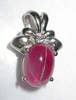 """Изящный кулон """"Ананас """" со звездчатым  рубином ,  от студии LadyStyle.Biz, фото 1"""