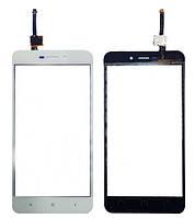 Оригинальный сенсорный экран Xiaomi Redmi 4A белый (тачскрин, стекло в сборе), Оригінальний сенсорний екран Xiaomi Redmi 4A білий (тачскрін, скло в