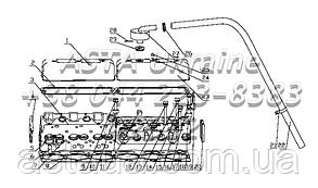 Головка цилиндров и её капот в сборе B7605-1003000