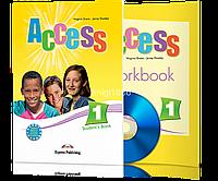 Комплект учебник с тетрадью «Access», уровень 1, Virginia Evans | Express Publishing