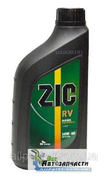 Масло моторное Zic RV Diesel 10W-40 (Канистра 1литр)