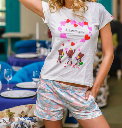 женская футболка