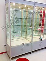 Стеклянные витрины и прилавки из алюминиевого профиля, Академгородок