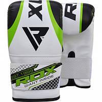 Снарядные перчатки, битки RDX White Green