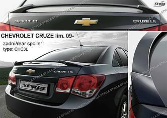 Спойлер на багажник тюнинг Chevrolet Cruze