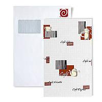 Образцы обоев EDEM 062-серии | дизайнерские обои для кухни с кофейным орнаментом