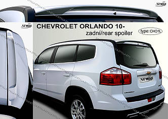 Спойлер козырек тюнинг Chevrolet Orlando