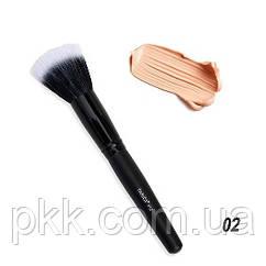 Кистьдля нанесения тональной основы Parisa Cosmetics натуральная Р-02