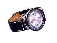 Товар имеет дефект Мужские механические часы WINNER LEATHER BAND Уценка №353