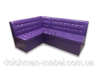 """Кухонный диван угловой """"Малибу"""" с нишами и спальным местом"""