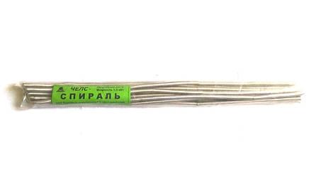 Спираль ЧЕЛС для бытовых электроплит и обогревателей 1.3кВт / 220В, фото 2