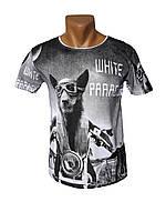 Прикольная футболка White Paradise - №4041