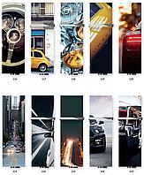 TERMA Дизайн радиатор Case Slim 1810*520, стекло/графика Automotive