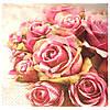Салфетка Элегантные розы 33 см