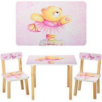 Столик 501-23 со стульчиками Мишка