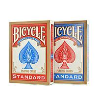 Карты Bicycle Standard (blue & red box)