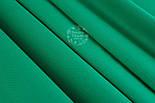 Однотонная польская бязь тёмно-зелёного цвета шириной 160 см (№461)., фото 2
