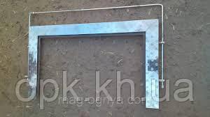 Уголок на плиту печную нержавейка П-образный 460*780*460 мм