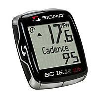 Велокомпьютер Sigma BC 16.12 STS Cadence Черный