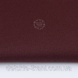 Однотонна польська бязь темно-коричневого кольору (№ 743).