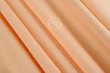 Однотонная бязь, цвет нежно-персиковый, №1238, фото 2