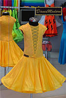 Платье для бальных танцев-бейсик, Sessy Yelow s.chiff