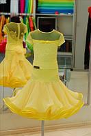 Платье для бальных танцев-бейсик, Sessy Yelow-geo